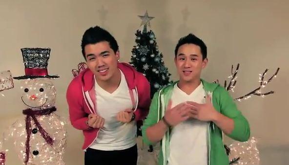 merry christmas happy holidays cover nsync joseph vincent jason chen - Merry Christmas Happy Holidays Nsync