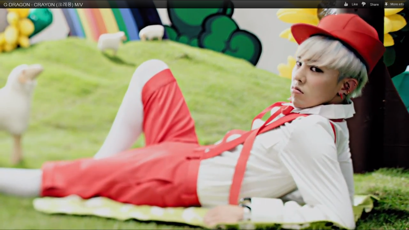 "G Dragon ""Crayon"" MV Released"