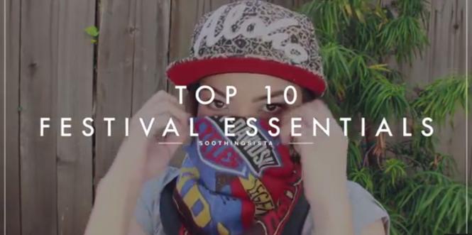 top 10 festival essentials